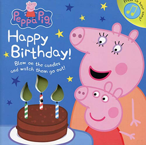 Peppa Pig: Happy Birthday! (Sound Book)
