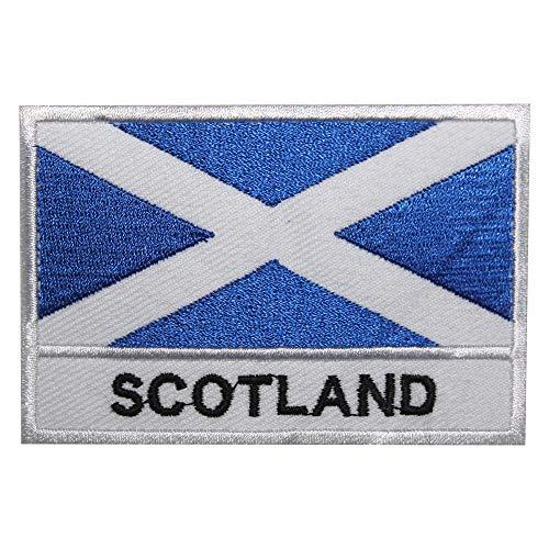 Parche bordado con la bandera nacional de Escocia