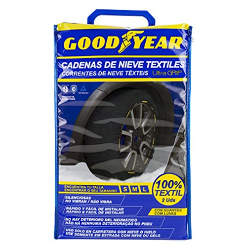 Good Year GOD8011 Ultra Grip Snow Chains Textile, Size M
