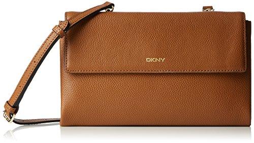DKNY Chelsea in pelle borsa a tracolla, Marrone (Noce), Taglia unica