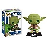 Star Wars Yoda Mini Figur Jedi Meister mit Wackelkopf Funko POP Sammlerreihe Nr.02 lizenziert