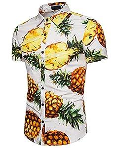 Camisa Hawaiiana Hombre Casual Estampado