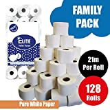 128 Rolls 2Ply Quilted and Embossed Elite Toilet Tissue
