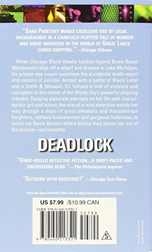 Deadlock (V.I. Warshawski Novels)