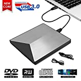 Lecteur CD DVD Externe, MingBin USB 3.0 Graveur DVD Externe Lecteur DVD Enregistreur...