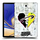 Head Case Designs Offizielle 5 Seconds of Summer Sicherheitsnadel Graffiti Ruckseite Hülle für Samsung Galaxy Tab S4 10.5 (2018)