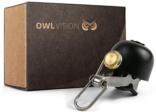 OWL VISION Fahrradklingel Hoot - Stylus (Black)