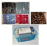 Dauerwellwickler 1-farbig 144 Stck. Sparpack + Stapelkorb