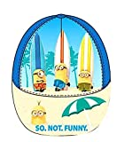 Illumination Minions - Kinder Baseball Cap/Basecap/ Kappe/Hut für Jungen So not Funny (52, Blau)