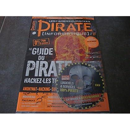 LES CAHIERS DU HACKER PIRATE (INFORMATIQUE) N°27 !! 'LE GUIDE DU PIRATE : HACKEZ-LES TOUS !' + LE CD 'LOGICIELS & SERVICES 100% PIRATE'