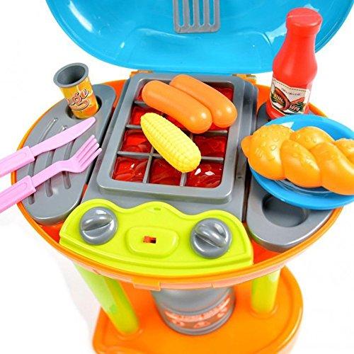 ☀ Elektrischer Spielzeug Grill Gasgrill Mini Kindergrill mit Licht und Sound ☀ - 2