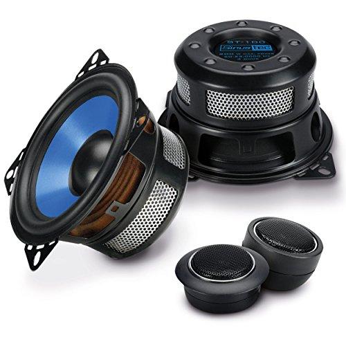 Sinustec Auto Lautsprecher Boxen als 2 Wege Komponentensystem 10 cm Einbau Pkw
