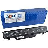 GRS bateria para HP ProBook 4510s, ProBook 4510s/CT, ProBook 4515s, ProBook 4515s/CT, ProBook 4710s, ProBook 4710s/CT, compatible con 513130-321, 535808-001, 591998-141, 593576-001, HSTNN-1B1D, HSTNN-OB88, HSTNN-OB89, HSTNN-W79C-7, HSTNN-XB89, NBP8A157B1, NZ375AA, para portátil con 6600 mAh/95Wh, 14,4V