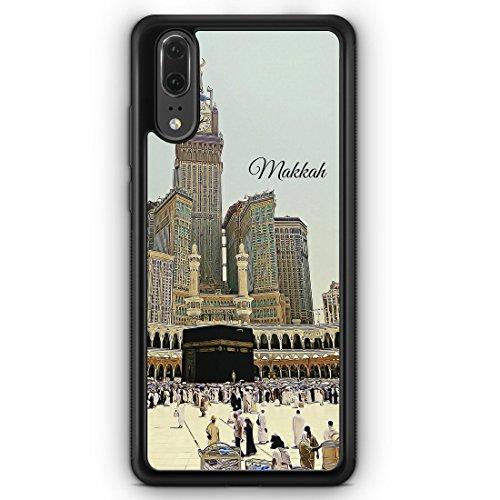 Panorama Makkah Mekka - Silikon Hülle für Huawei P20 - Motiv Design Islam Muslimisch Schön - Handyhülle Schutzhülle Cover Case Schale