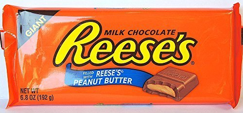 Reese's GIANT Milk Chocolate Candy Bar, 6.8 oz by Reese's (Hersheys Milk Chocolate Bar)