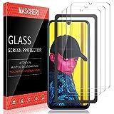 MASCHERI Verre Trempé pour Huawei P Smart 2019 / Honor 10 Lite, [3 Pièces] [Cadre de positionnement ] [Résistant aux Rayures] Film Protection écran pour Huawei P Smart 2019