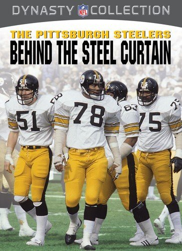 Nfl: Pittsburg Steelers - Behind The Steel Curtain [DVD] [Region 1] [NTSC] [US Import] (Steelers Films Nfl)