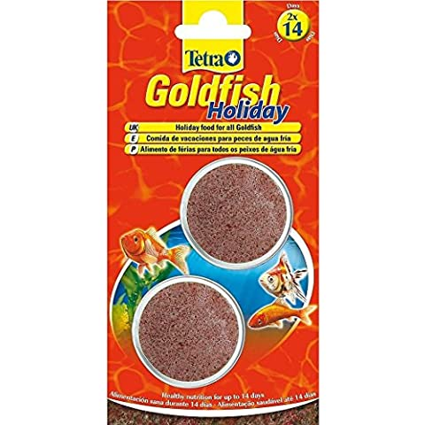 Fish Food Tetra Goldfish Holiday 12g Food For Fishes High Energy - Pond Fish Care