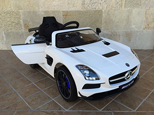 MERCEDES SLS 2017 12V 2.4G VIDEO MP4 WHITE
