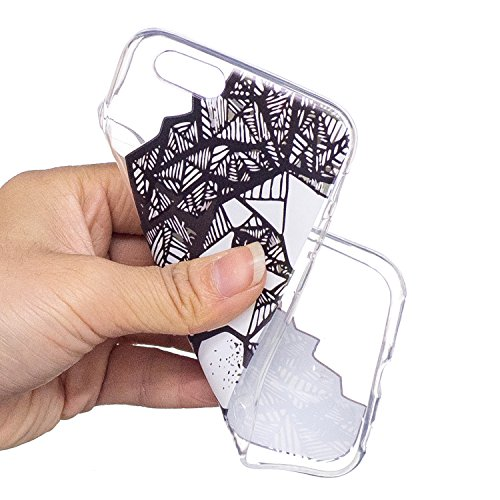 Coque iPhone 6 Plus, iPhone 6S Plus Case, Voguecase [Ultra Fin] [Anti Choc] [Anti Rayures] Premium TPU Silicone, Exact Fit / Léger / Souple Housse Etui Coque Pour Apple iPhone 6 Plus/6S Plus 5.5 (Love Demi face