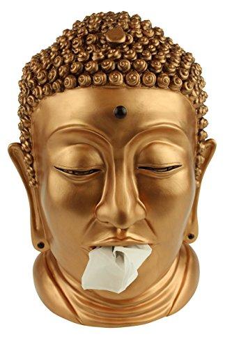 Rotary Hero Buddha Tissue box Holder - Brass