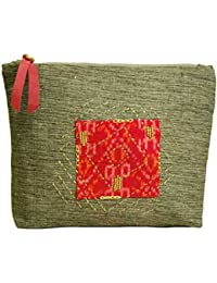 Clean Planet Eco-Friendly Handcrafted Elegant Pouch/Clutch For Women For Party | Casual | Office | Travel – Embroidered...
