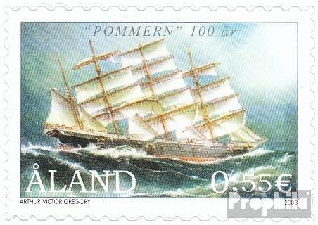 Prophila Collection Finnland - Aland 224 (kompl.Ausg.) 2003 Viermastbark Pommern (Briefmarken für Sammler) Seefahrt