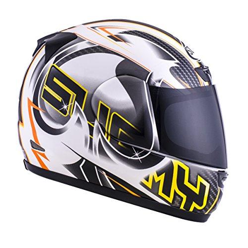 Suomy Motorradhelm Apex, Grau (Pike Grau), M (Helm Solar Bell)