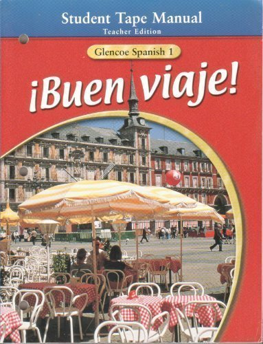 iBuen Viaje! Glencoe Spanish, Level 1, Teacher's Edition by Conrad J. Schmitt (2000-08-01)