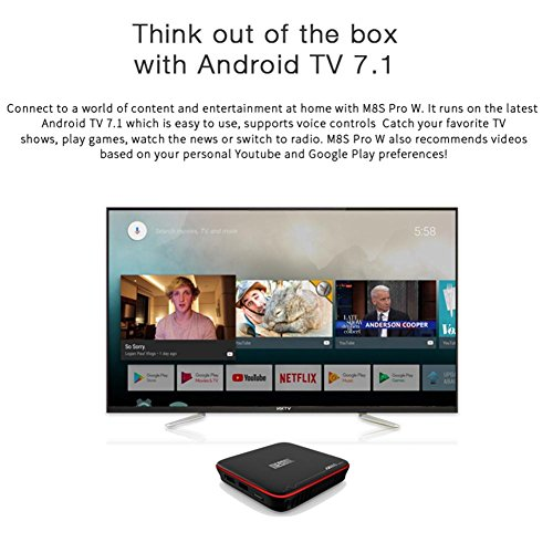 Alian iYoung Mecool M8S PRO W 2 4G Voice TV 4K Full HD Box Android S905W 2G RAM 16G ROM Android 7 1 Wireless Wifi Network Set-Top Box Receiver and Recoeder Digital Box support 32GB expandable storage