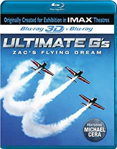 Imax: Ultimate Gs: Zacs Flying Dream 3d [Blu-ray]