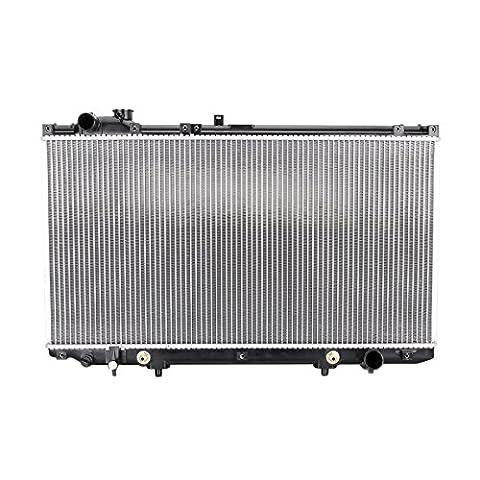 Madlife Garage Aluminum Core Engine Cooling Radiator For 16400-46570,16400-46580 Lexus GS 300/300T3/400 Series(UZS161- JZS160) V6 V8 1998-2005