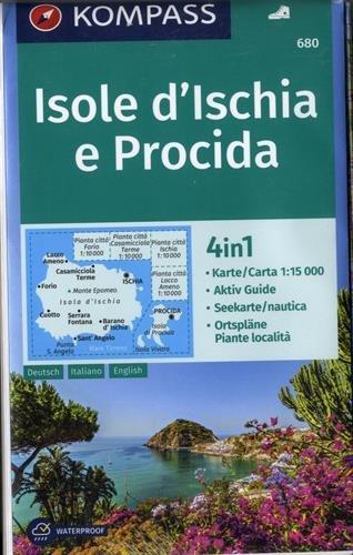Isole d'Ischia e Procida : Editions en allemand, anglais, italien,