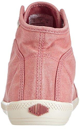 Palladium Flex Lace Mid, Baskets hautes femme Rose - Pink (OLD ROSE/MRSHMLLW 632)