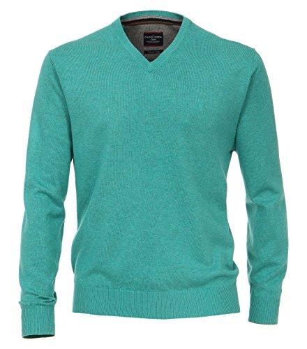 CASAMODA Herren Pullover Comfort Fit 004130/80 Aquamarine - uni (187)