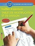 Feuilles d'exercices : tables de multiplication et de division