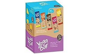 Yoga Bar Multigrain Energy Bars - Pack of 10 (Chocolate, Vanilla Almonds, Cashew Orange and Nuts and Seeds)