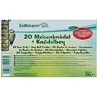 Erdtmanns 20 Meisenknödel ohne Netz plus 1 Knödelboy, 1er Pack (1 x 1700 g)