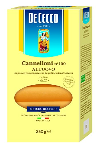 De Cecco Ital. Cannelloni, 6er Pack (6 x 250 g)
