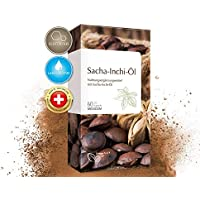 Preisvergleich für Sacha Inchi Öl Kapseln • 500 mg pro Tagesdosis • reich an Omega 3-6-9 Fettsäuren • optimale Bioverfügbarkeit •...