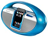 from Scott Scott iSX10LB Portable Sound System for iPod with AM/FM Radio - Light Blue Model iSX10LB