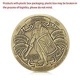 zijianZZJ Gedenkmünze, seltener Einsatz der vollen Rüstung Gottes/Marine Corps Gedenkmünzen Sammlerstück Geschenk