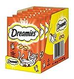 Dreamies Katzensnacks Klassiker / Katzenleckerli mit wertvollen Vitaminen und Mineralstoffen / Huhn / 6 x 60g