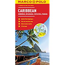 Caribbean Marco Polo Map (Marco Polo Maps)