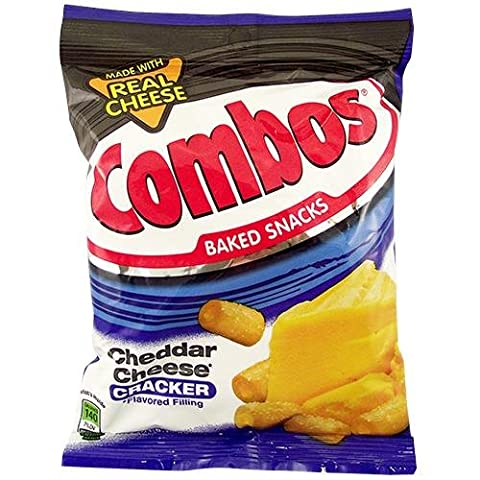 Combos Cheddar Cheese Crackers 6.3 OZ