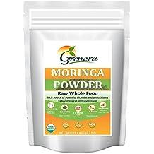 Grenera Organic Moringa Leaf Powder - 1Kg (1000 Gram)