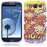 Etui de créateur pour Samsung Galaxy S3 i9300 - Etui / Coque / Housse de protection en TPU/gel/silicone avec motif bande dessinée