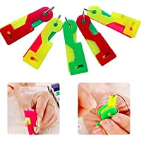 5aguja enhebrador automático Fácil de coser Aguja dispositivo color al azar por accesorios ático ®