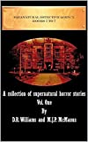 Paranatural Detective Agency Vol 1: A Collection of Supernatural Horror Stories by D R Williams, M J P  McManus