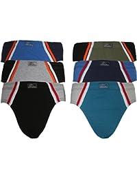 6er PACK Slips Unterhosen Unterwäsche Shorts TOP QUALITÄT 100% Baumwolle in verschiedene Farben und Modelle